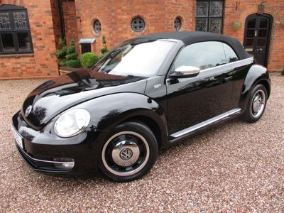 Volkswagen Beetle Convertible 1.4 TSI 50s Cabriolet 2dr