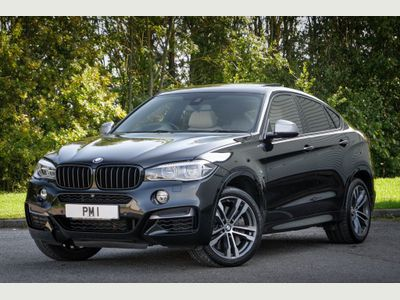 BMW X6 SUV 3.0 M50d SUV 5dr Diesel Auto xDrive (s/s) (381 ps)
