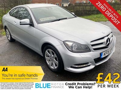 Mercedes-Benz C Class Coupe 2.1 C220 CDI SE (Executive Premium) 2dr