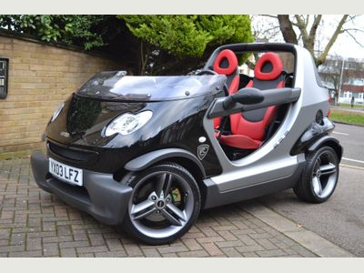 Smart fortwo Convertible 0.6 City Crossblade Cabriolet 2dr
