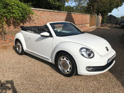 Volkswagen Beetle Convertible 1.6 TDI BlueMotion Tech Design Cabriolet 2dr