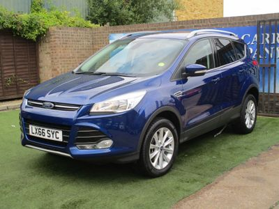 FORD KUGA SUV 2.0 TDCi Titanium 4WD (s/s) 5dr