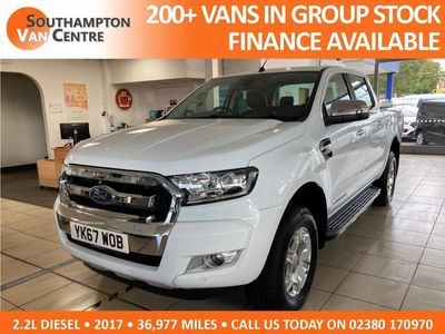 Ford Ranger Combi Van 2.2 TDCi Limited 1 Double Cab Pickup Auto 4WD 4dr