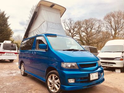 Mazda BONGO AFT 4 BERTH SIDE CAMPER CONVERSION Campervan FRESH IMPORT IMMACULATE PETROL