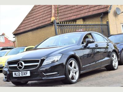 Mercedes-Benz CLS Coupe 3.5 CLS350 BlueEFFICIENCY AMG Sport 7G-Tronic Plus 4dr