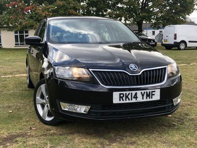 SKODA RAPID SPACEBACK Hatchback 1.6 TDI CR Elegance Spaceback 5dr
