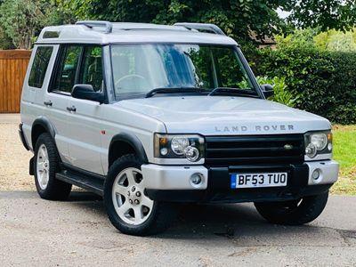 Land Rover Discovery SUV 4.0 i V8 ES 5dr (7 Seats)