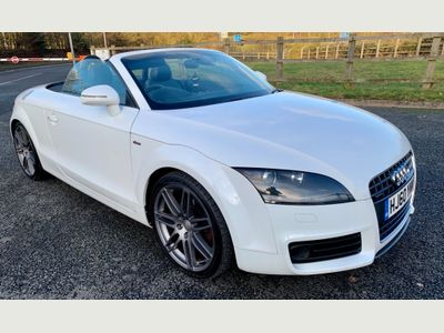 Audi TT Convertible 2.0 TD S line Special Edition Roadster 2dr