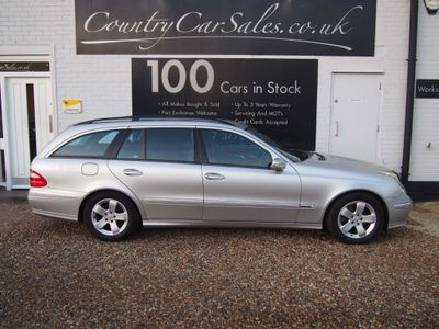 Mercedes-Benz E Class Estate 2.7 E270 CDI Avantgarde 5dr