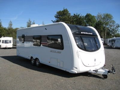 Sterling ECCLES AMETHYST Tourer 2012 6 BERTH FULLY LOADED