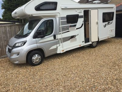 Elddis Autoquest 180 Coach Built MAJESTIC 6 BERTH 6 BELTS DELIVERY POSSIBLE