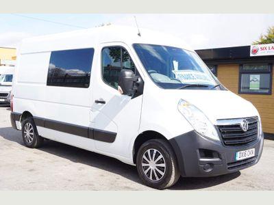 Vauxhall Movano Combi Van 2.3 CDTi 3500 Crew Van (9 Seat) MWB
