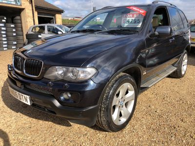 BMW X5 SUV 3.0i Sport Exclusive Edition Auto 4WD 5dr