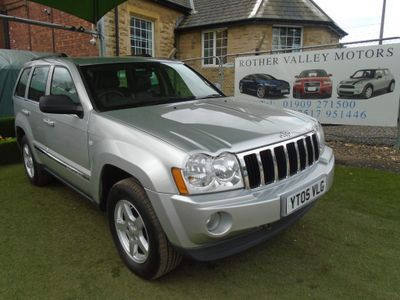 Jeep Grand Cherokee SUV 3.0 CRD Limited 4WD 5dr