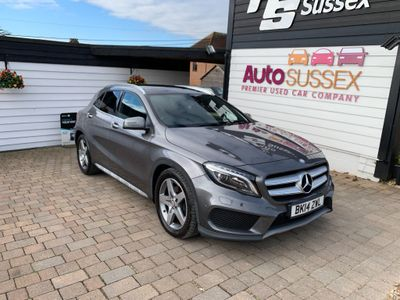 Mercedes-Benz GLA Class SUV 2.1 GLA220 CDI AMG Line (Premium Plus) 7G-DCT 4MATIC 5dr