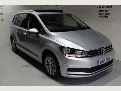 Volkswagen Touran MPV 1.6 TDI BlueMotion Tech SE Family DSG (s/s) 5dr