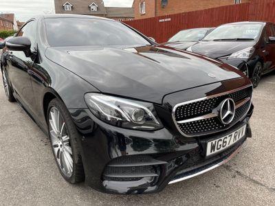 Mercedes-Benz E Class Coupe 3.0 E400 V6 AMG Line (Premium Plus) G-Tronic+ 4MATIC (s/s) 2dr