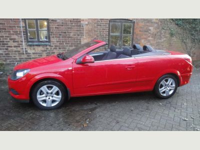 Vauxhall Astra Convertible 1.6 i Air Twin Top 2dr