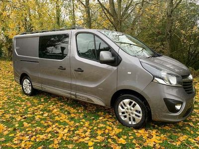 VAUXHALL VIVARO Other 1.6 CDTi 2900 BiTurbo Limited Edition Nav L2H1 Double Cab (s/s) 5dr