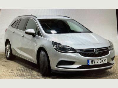 Vauxhall Astra Estate 1.6 CDTi ecoFLEX Tech Line Sports Tourer (s/s) 5dr