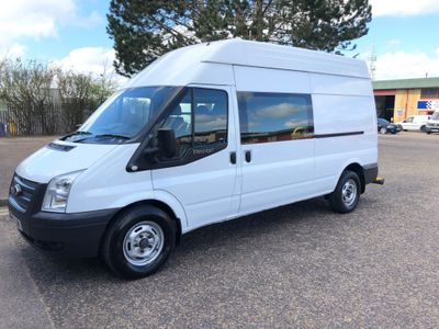 Ford Transit Specialist Vehicle 2.2 Lwb High Roof Mess Van . 29000 Miles