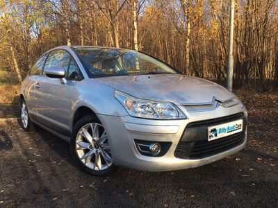 Citroen C4 Coupe 1.6 HDi 16v Exclusive EGS 3dr (DPFS)