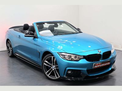 BMW 4 Series Convertible 2.0 420d M Sport (s/s) 2dr