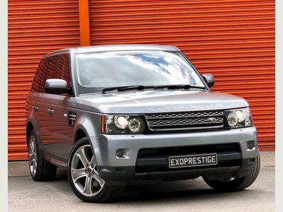 Land Rover Range Rover Sport SUV 3.0 SD V6 HSE Black Auto 4WD (s/s) 5dr