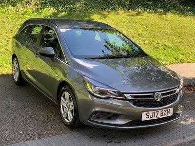Vauxhall Astra Estate 1.6 CDTi ecoFLEX Design Sports Tourer (s/s) 5dr