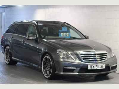 Mercedes-Benz E Class Estate 5.5 E63 BlueEFFICIENCY AMG MCT 7S (s/s) 5dr