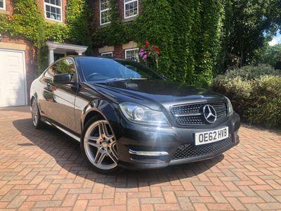 Mercedes-Benz C Class Coupe 2.1 C220 CDI BlueEFFICIENCY AMG Sport Sport Coupe 7G-Tronic Plus 2dr
