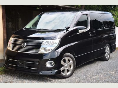 Nissan Elgrand MPV HIGHWAY STAR 2.5 BLACK LEATHER SERIES3