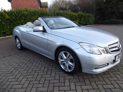 Mercedes-Benz E Class Convertible 1.8 E250 BlueEFFICIENCY SE Cabriolet G-Tronic 2dr