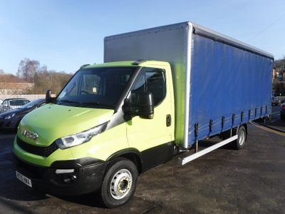 Iveco Unlisted Curtain Side 20ft Dropside With Curtain Sides