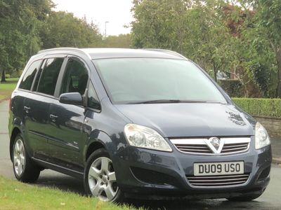 Vauxhall Zafira MPV 1.6 Breeze 5dr