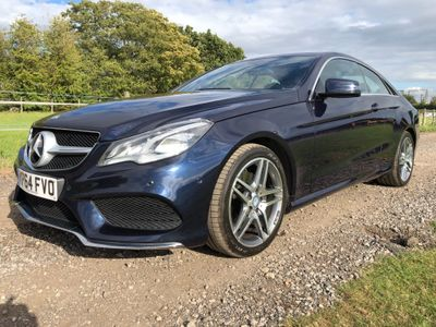 Mercedes-Benz E Class Coupe 3.0 E350 CDI BlueTEC AMG Line 9G-Tronic Plus 2dr