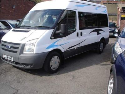 Ford Transit Unlisted 2.2 TDCi 300 Duratorq Medium Roof Shuttle Bus M 6dr (9 Seats, MWB)