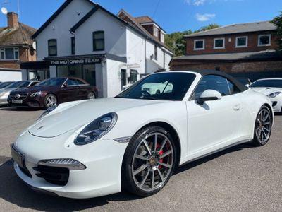 Porsche 911 Convertible 3.8 991 Carrera 4S PDK 4WD (s/s) 2dr