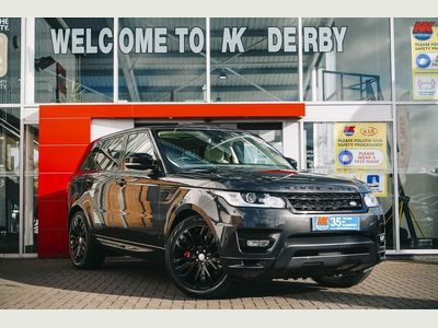 Land Rover Range Rover Sport SUV 4.4 SD V8 Autobiography Dynamic 4X4 (s/s) 5dr