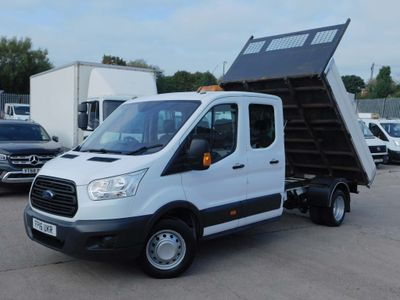 Ford Transit Tipper 2.2TDCI 125PS DOUBLE CAB TIPPER F/S/H