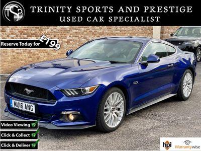 Ford Mustang Coupe 5.0 V8 GT Fastback SelShift 2dr
