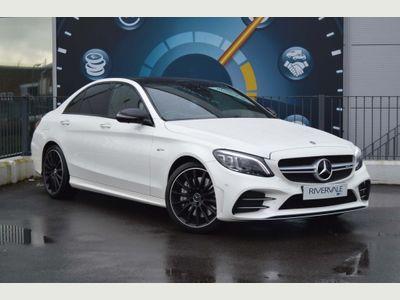 Mercedes-Benz C Class Saloon 3.0 C43 V6 AMG (Premium Plus) G-Tronic+ 4MATIC (s/s) 4dr