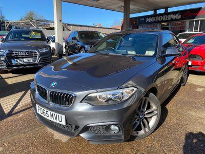 BMW 2 Series Coupe 2.0 218d M Sport Auto (s/s) 2dr