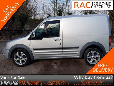 Ford Transit Connect Panel Van 1.8 TDCi T200 Limited Panel Van 4dr Diesel Manual SWB (109 bhp)
