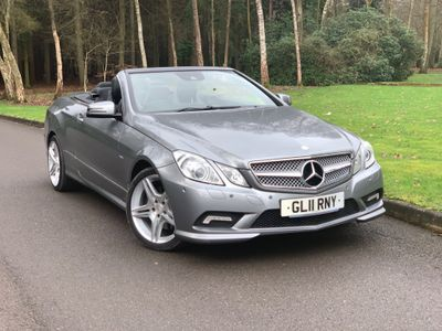 Mercedes-Benz E Class Convertible 2.1 E250 CDI BlueEFFICIENCY Sport Edition 125 Cabriolet 7G-Tronic Plus (s/s) 2dr