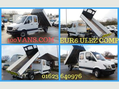 Mercedes-Benz Sprinter Tipper 2.1CDI 314 140PS CREW CAB TIPPER F/S/H