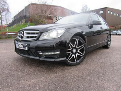 Mercedes-Benz C Class Saloon 2.1 C220 CDI BlueEFFICIENCY AMG Sport Plus 4dr (COMAND)