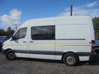 MERCEDES-BENZ SPRINTER Combi Van 2.1 CDI 313 High Roof Panel Van 4dr (LWB)
