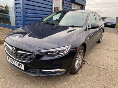 Vauxhall Insignia Hatchback 1.6 Turbo D ecoTEC Elite Nav Grand Sport (s/s) 5dr