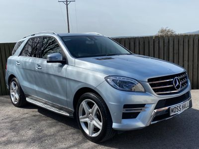 Mercedes-Benz M Class SUV 3.0 ML350 CDI BlueTEC AMG Line 7G-Tronic Plus 5dr